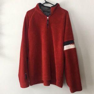 H/00 Tommy Hilfiger Fleece Sweater Mens Size XL